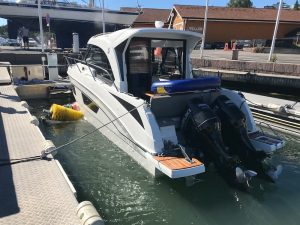 Read more about the article 1150 boats cleaned at Vollen Marina, Norway