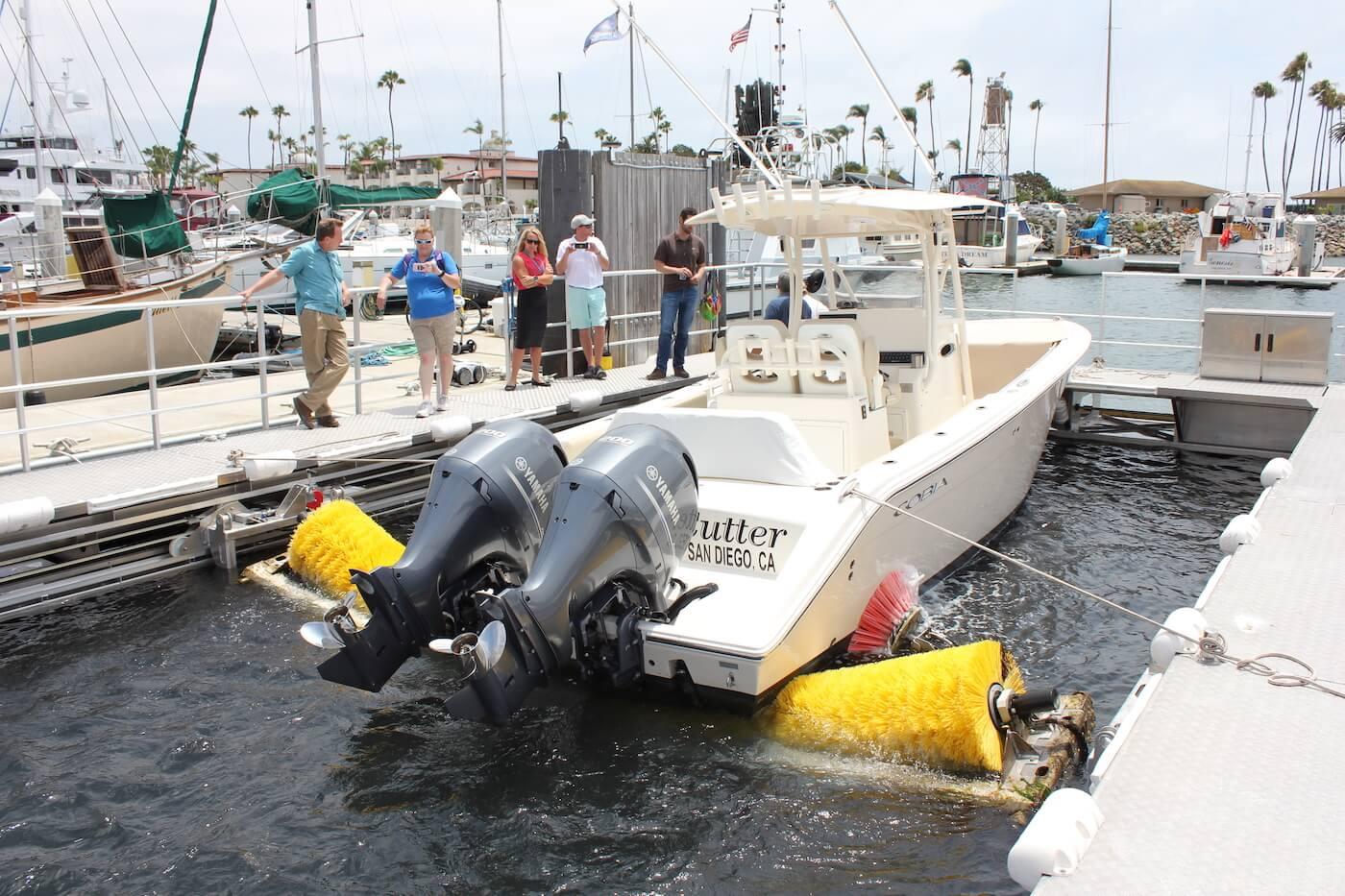 San Diego - motor boat
