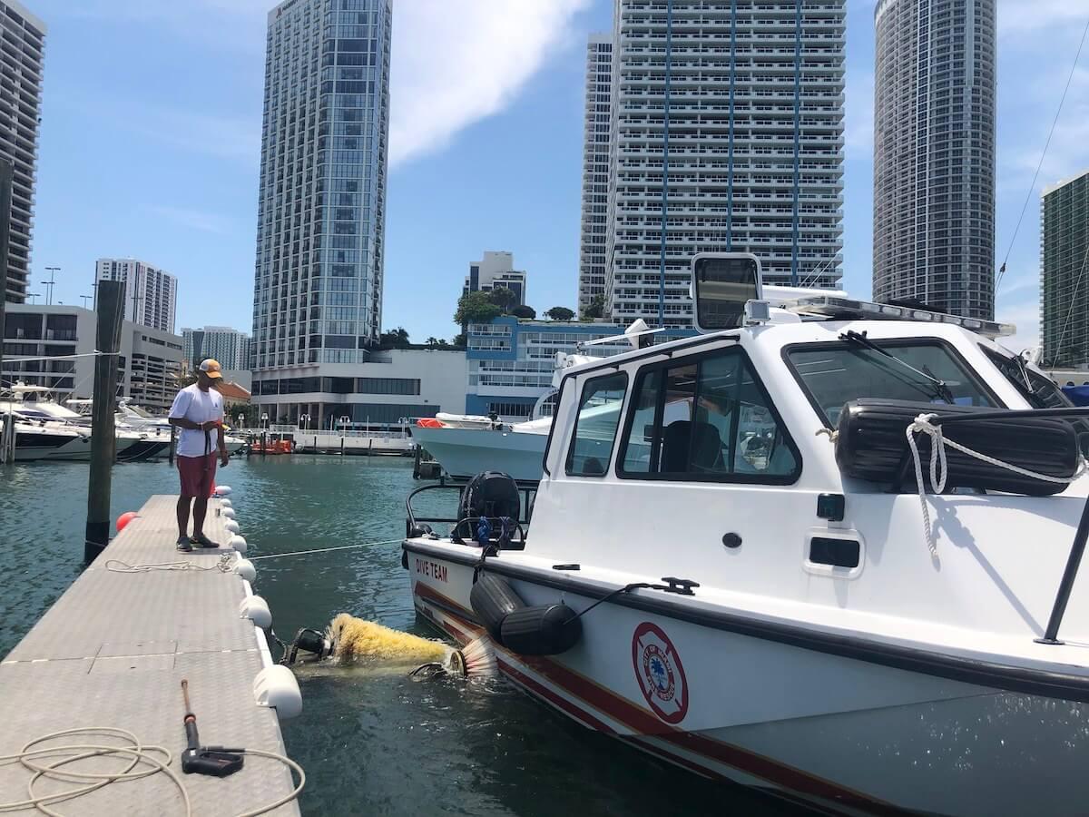 Miami boat wash