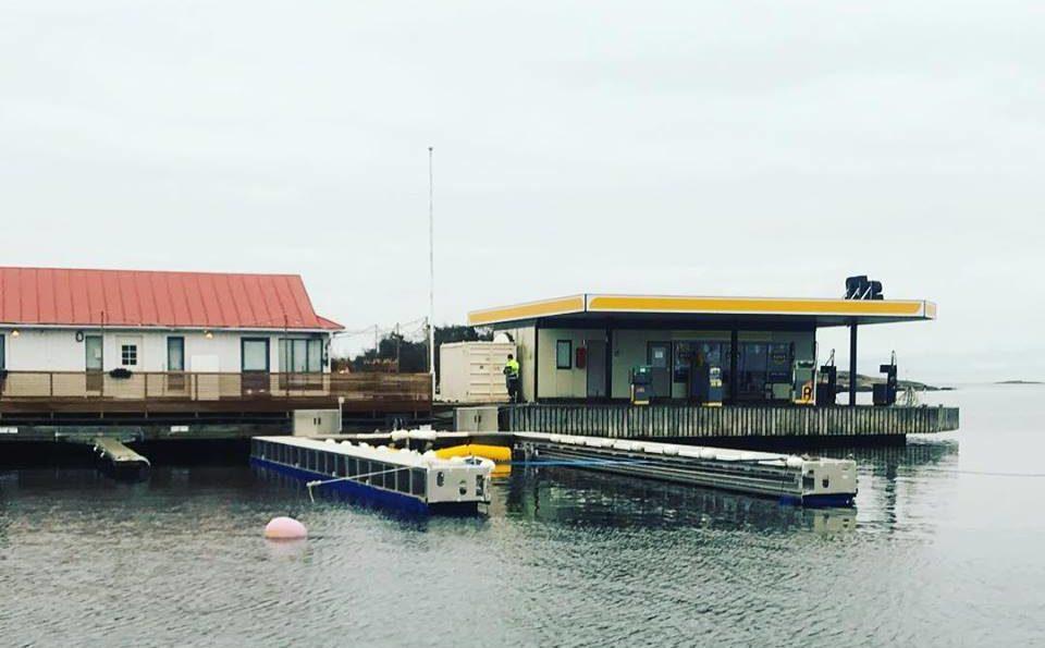Första båttvätten öppnar i Finland!